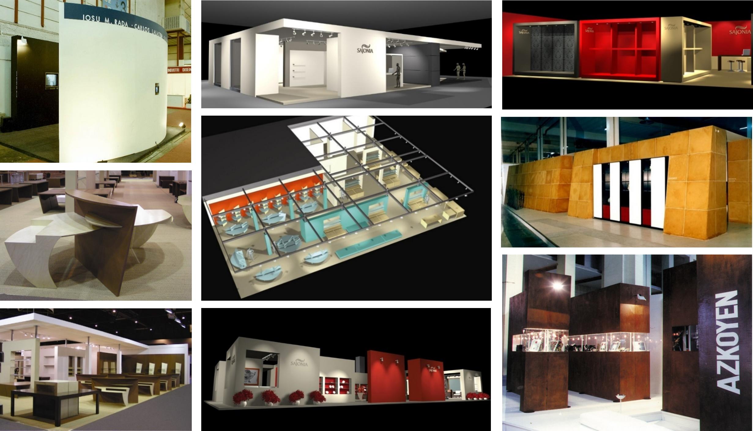Dise o expositivo stands y arquitectura efimeraiosu rada - Diseno y arquitectura ...