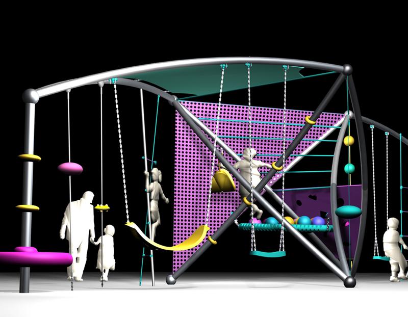 Programa de parques infantiles. Diseño industrial y desarrollo de producto